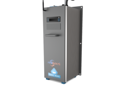 Compressed air powered uninterruptible power supply (UPS) for underground mines