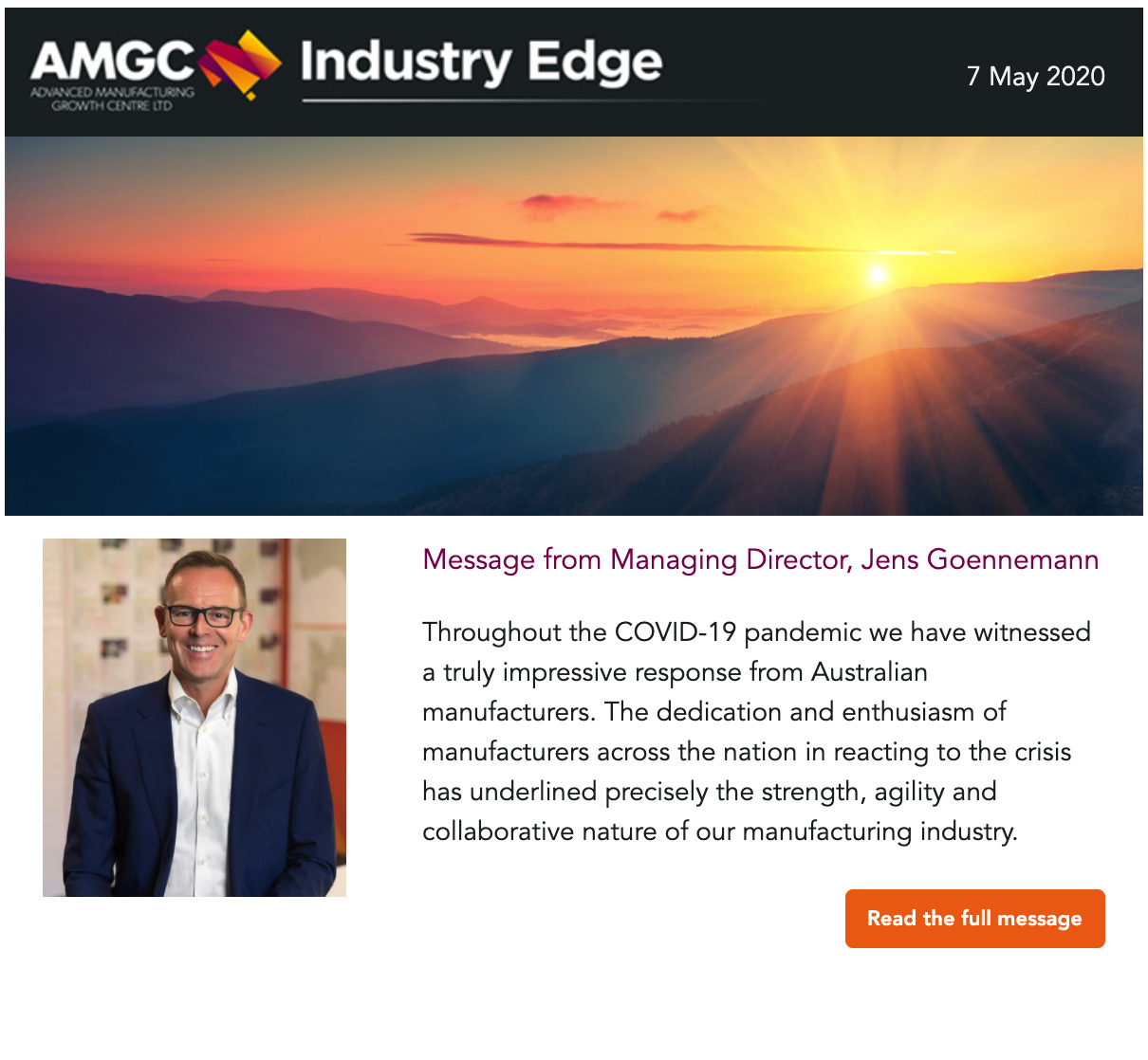 Industry Edge – April 2020