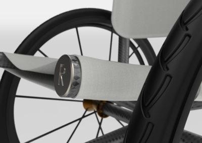 3D Printed Metal & Carbon Fibre Customised Wheelchair
